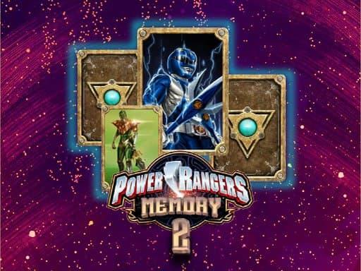 Подбор карт Power Rangers – игра на память