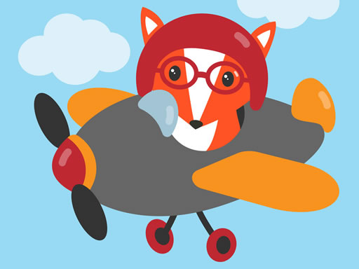 Play Cute Planes Coloring Online