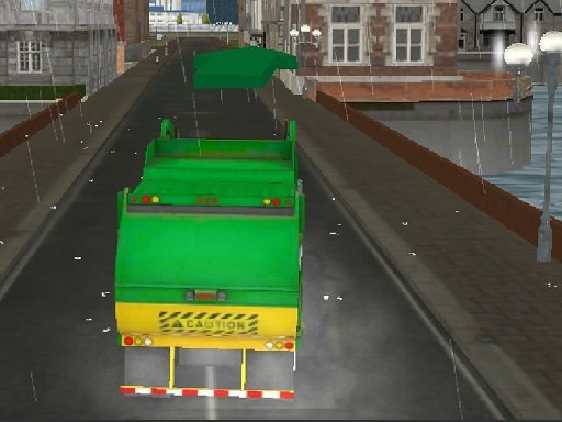 Amsterdam Truck Garbage GM - Popular Games - Cool Math Games