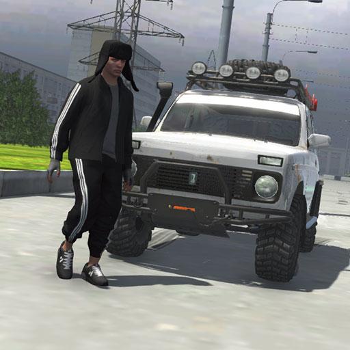 Russian Taz Driving 3