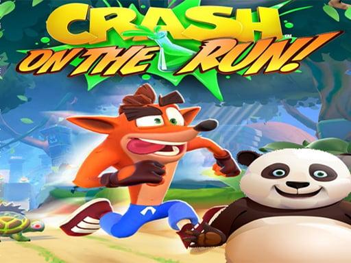 Play Crash Bandicoot and Little Panda: On the Run! 2