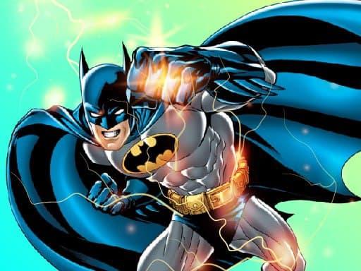 Игра-головоломка спасения Бэтмена