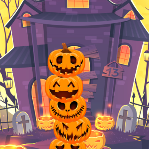 Pumpkin tower halloween