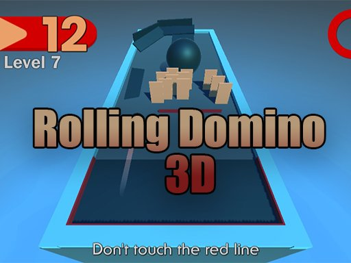 Rolling Domino 3D - Popular Games - Cool Math Games
