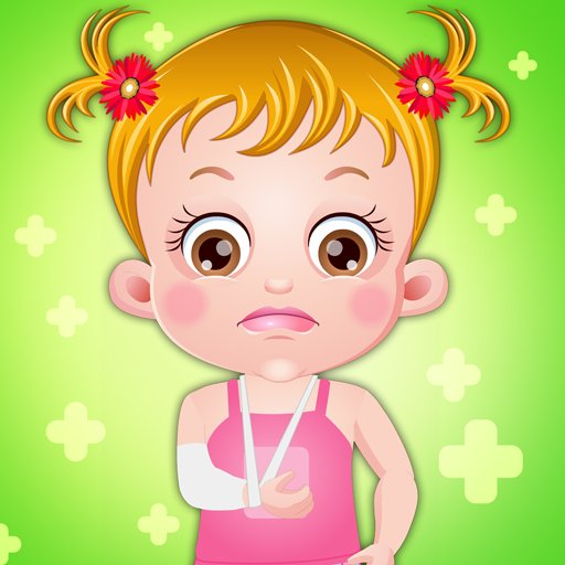 Baby Hazel Hand Fracture
