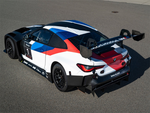 BMW M4 GT3 Слайд