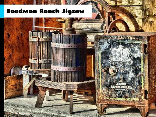 Deadman Ranch Jigsaw