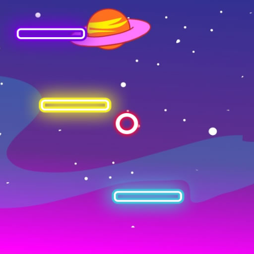 Neon Space Jump