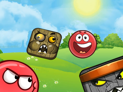 Красный шар 4 Bounce Adventure