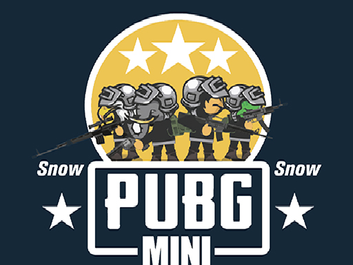 Play PUBG Mini Snow Multiplayer Online