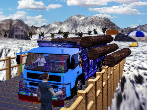 Play Cargo Truck Transport Simulator  2020 Online