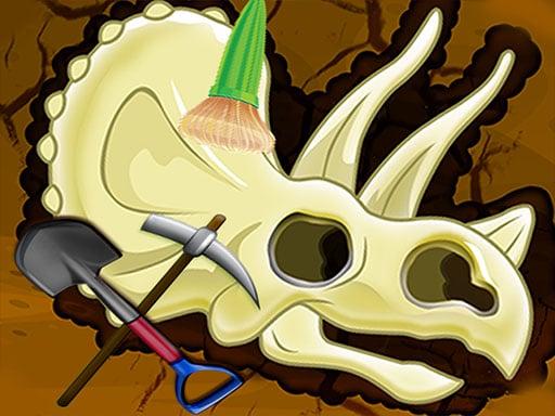 Digging Games - Find Dinosaurs Bones