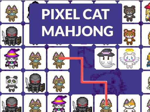 Kedi Piksel Mahjong