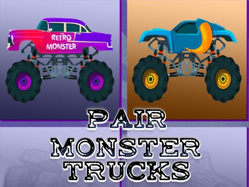 Пара Monster Trucks
