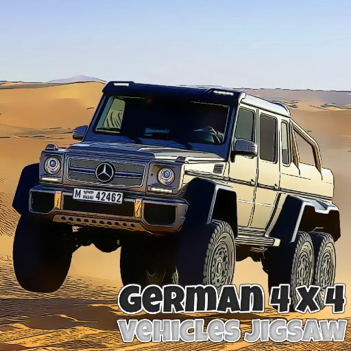 German 4x4 Vehicles Jigsaw