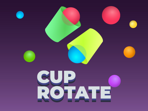 Cup Rotate: Falling Balls