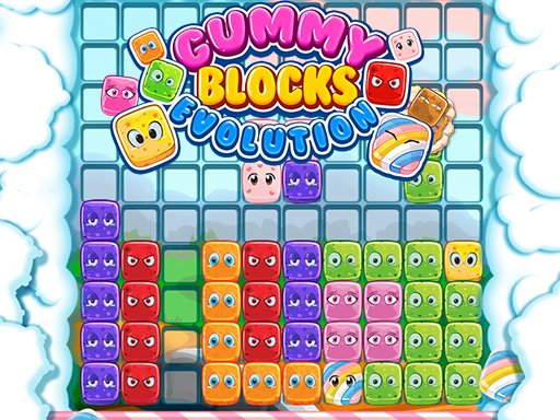 Play Gummy Blocks Evolution Online