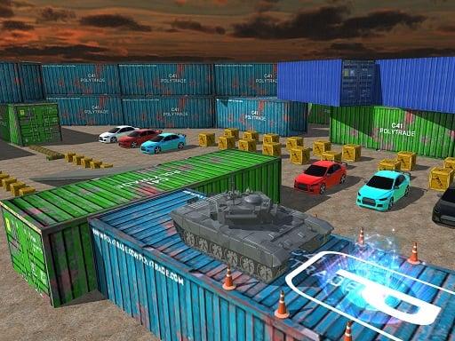 Play Tank Parking 3D Sim