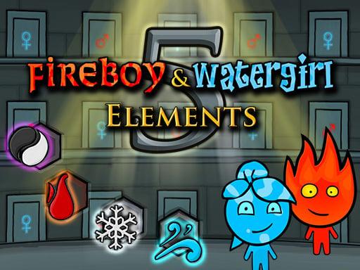 Игра Fireboy и Watergirl 5 Elements