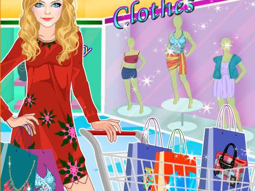 Princess at the Shopping Mall
