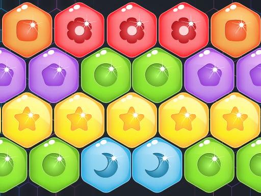 Сладкие конфеты Hexa Puzzle