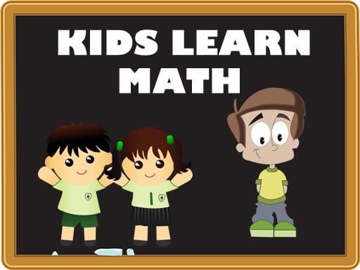 Play Kids Learn Math Online