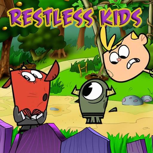 Restless Kids Jigsaw