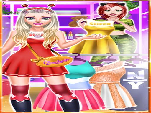 Одевалки для девочек из журнала чирлидеров