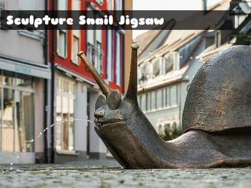 Sculpture Snail Jigsaw