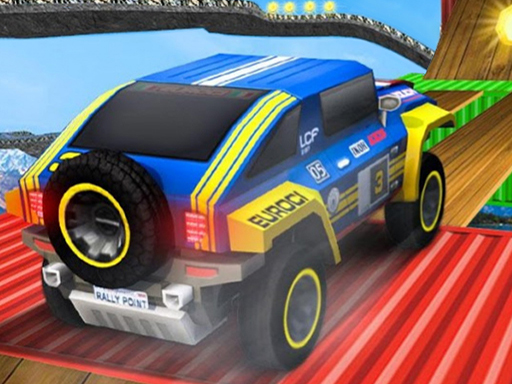 Супер джип вождение с мега рампой