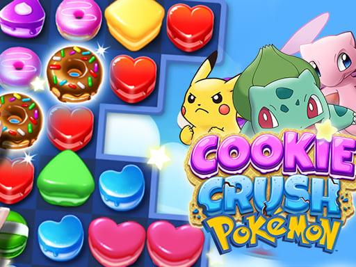 Cookie Crush Покемон