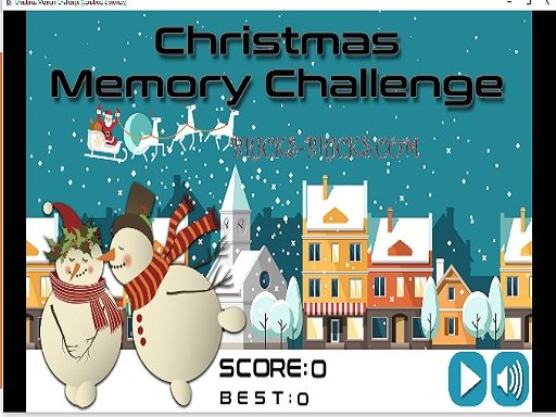 Christmas Memory Challenge - Popular Games - Cool Math Games