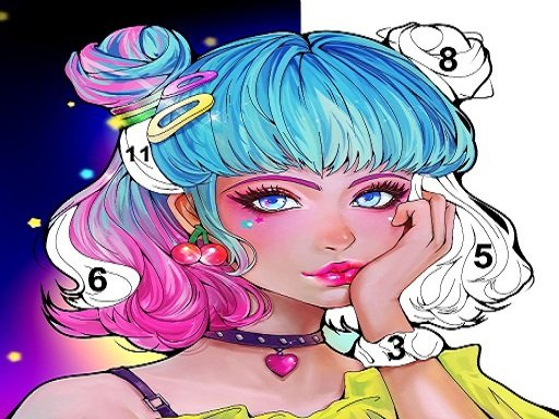 Sweet Coloring: Color by Painting Game