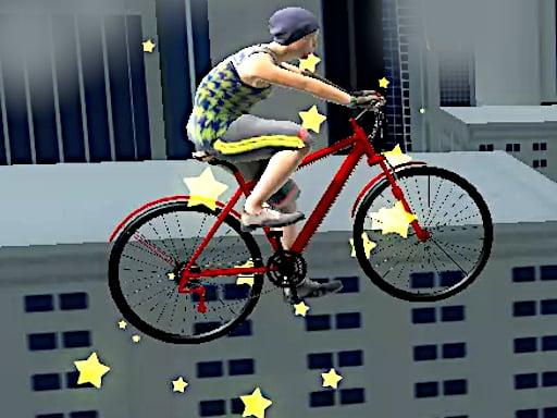 Велосипедные трюки на крыше