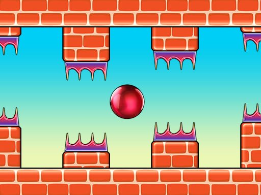 Flappy Red Ball - New Games - Cool Math Games