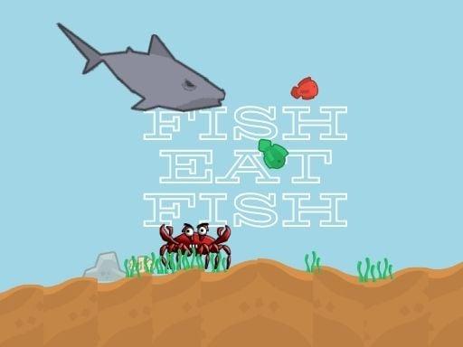 Рыба ест рыбу 2 игрока