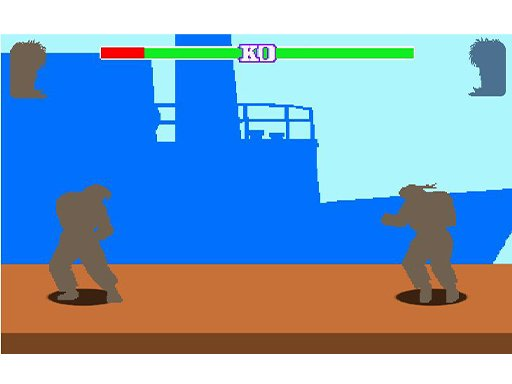 Play fight game