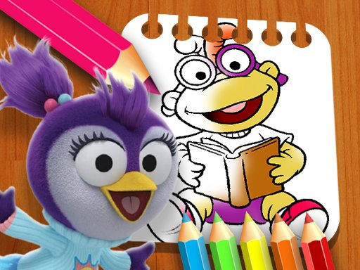 Muppet Babies Coloring Book