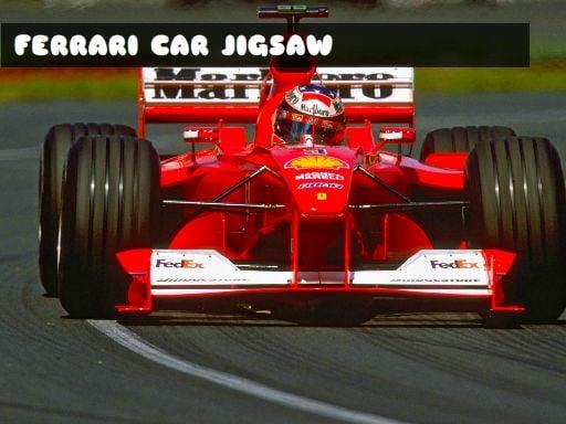 Play FERRARI CAR JIGSAW