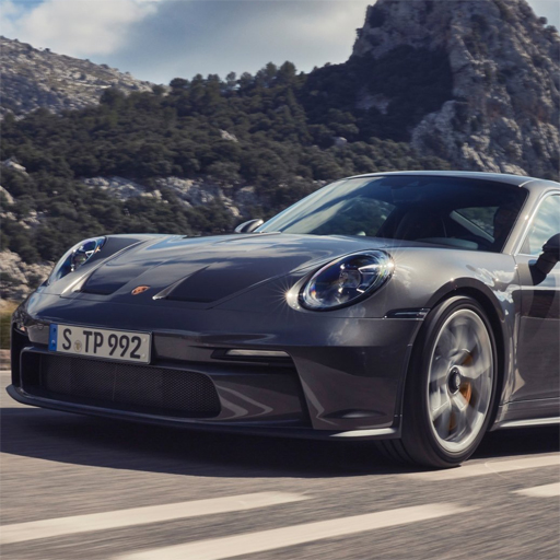 Porsche 911 GT3 Touring Slide