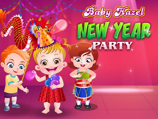 Play Baby Hazel New Year Party Online
