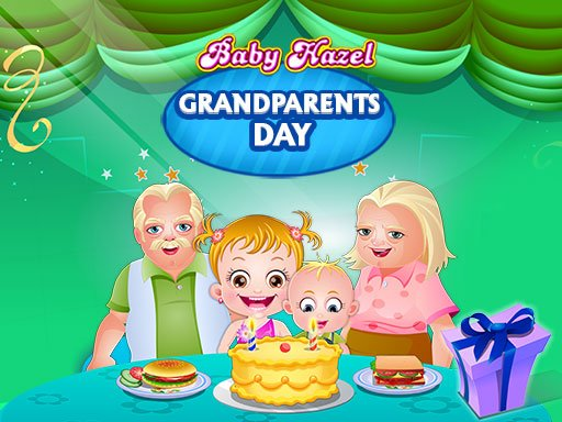 Baby Hazel Grandparents Day