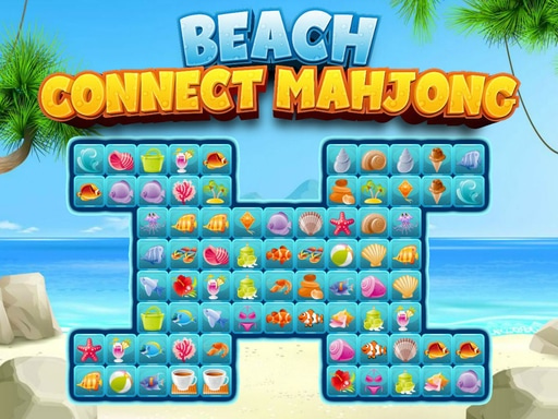 Beach Connect Mahjong