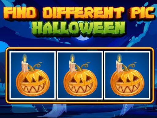 Найдите разные картинки на Хэллоуин