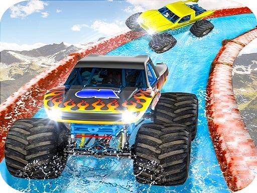 Monster-Truck-Water-Surfing-:-Truck-Racing-Games