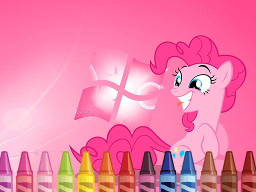 Play My Little Pony 4 Coloring