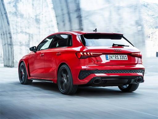 Play Audi RS3 Slide