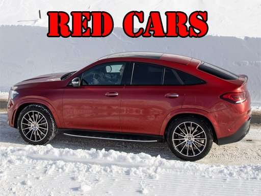 Play Red GLE Coupe Cars Puzzle Online