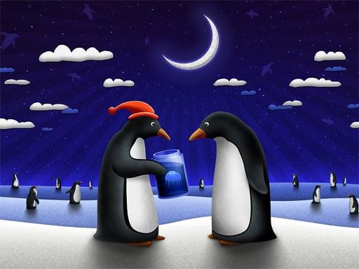 Karácsonyi pingvinek