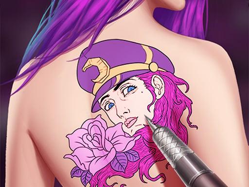 Мастер Татуировки Принцессы